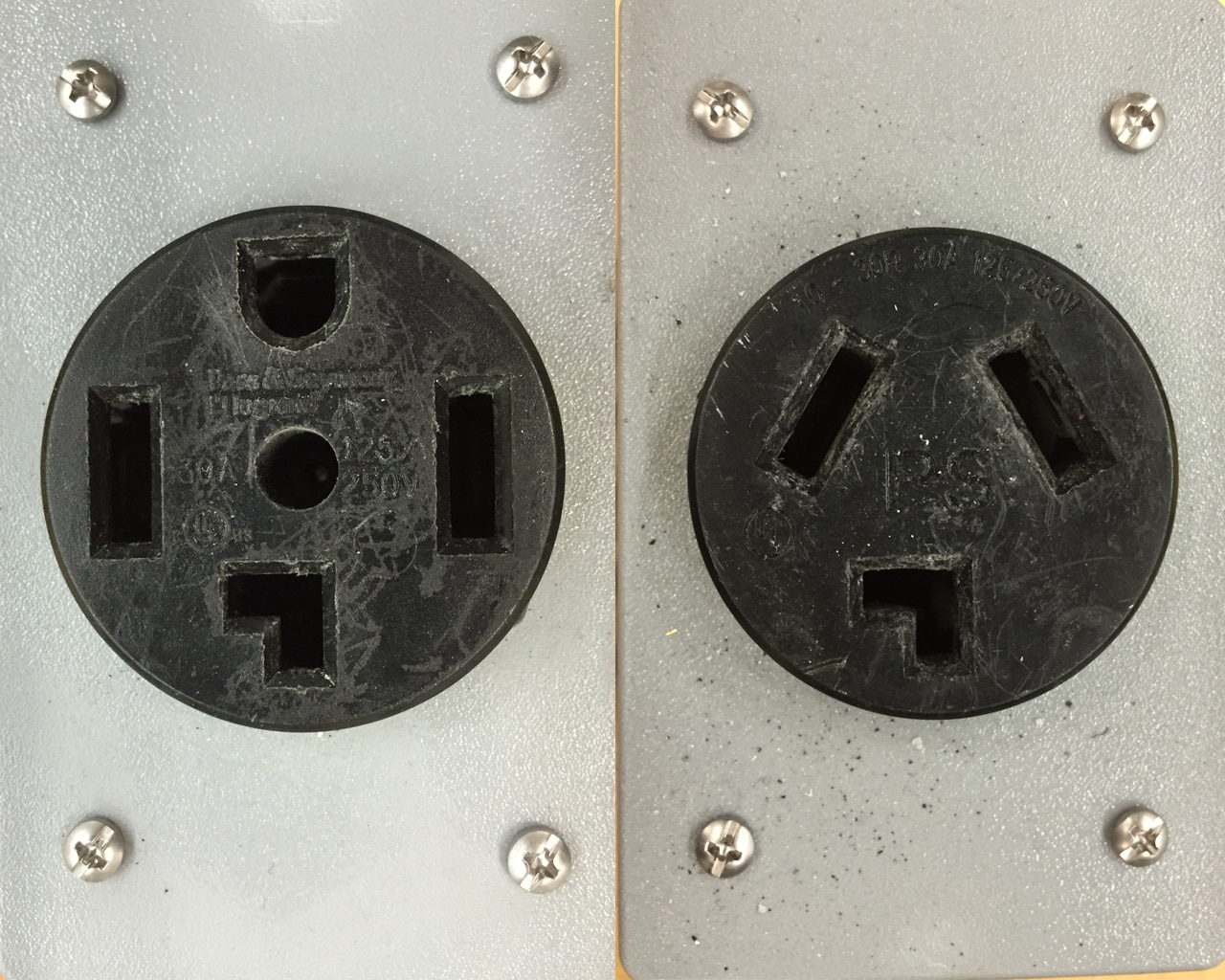 3 wire outlet diagram prong plug wiring agnitum double light switch nz vs 4 dryer outlets what 39s the difference