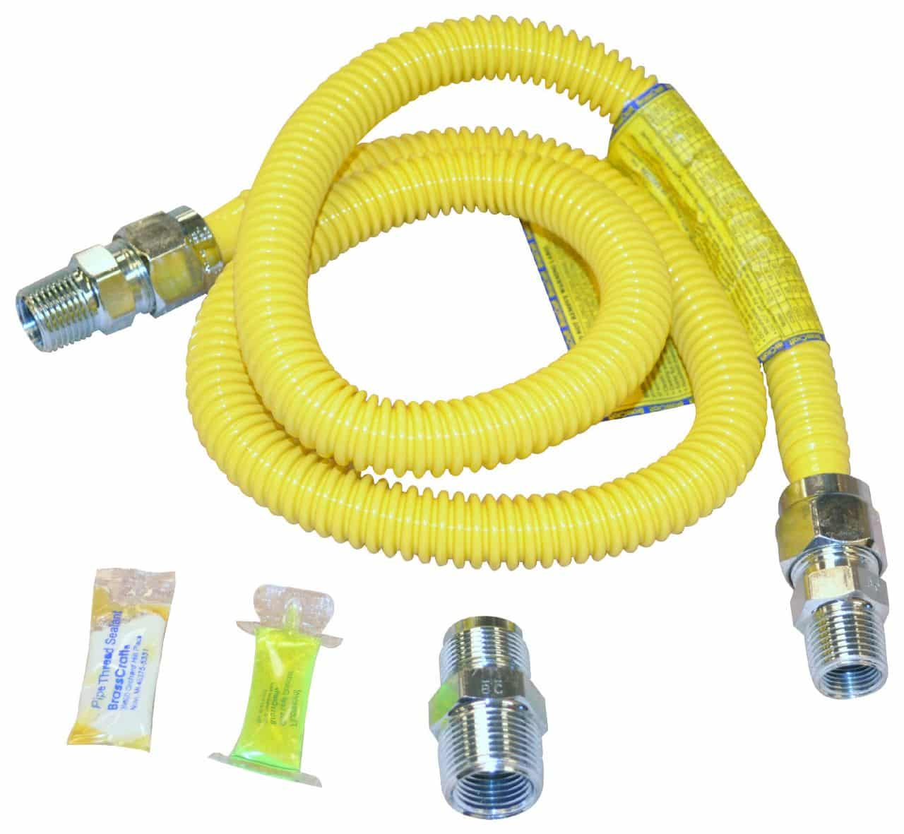 hight resolution of range gas lines what you don t know can increase fire risk