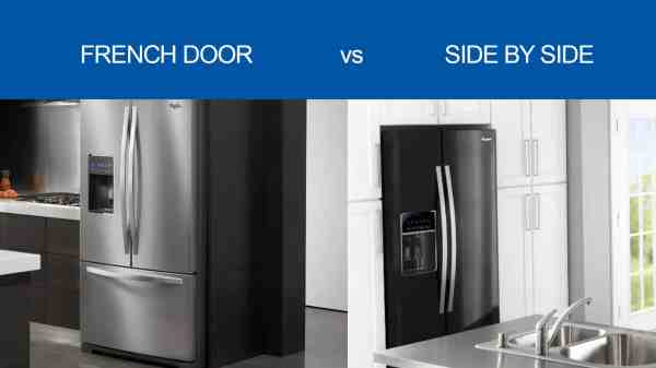 French Door Refrigerators Side-side - ' Difference Fred' Appliance