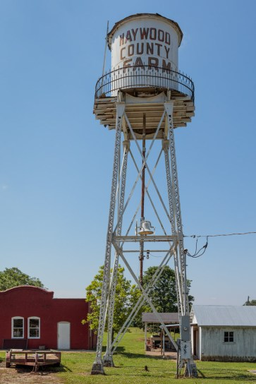 Water tower donated by the city of Brownsville
