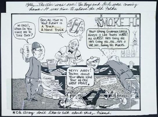 Frank Bruno Wild West News satirical cartoons