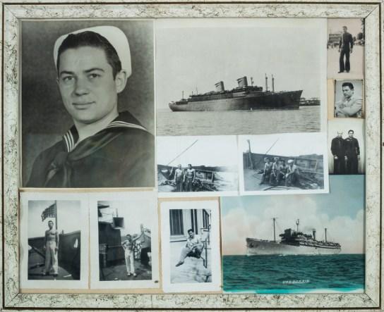 Frank Bruno World War II service photos, ca 1943