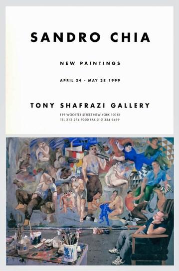 Sandro Chia, Tony Shafrazi Gallery; 1999
