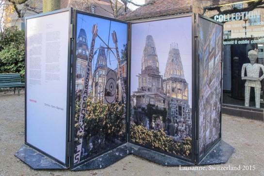 Architecture (Cano's Castle); exhibition at Art Brut 2015