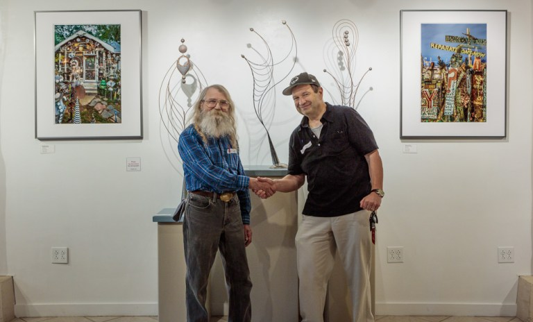 Bill Brady & Fred Scruton, photo: Barbara Krone 2017