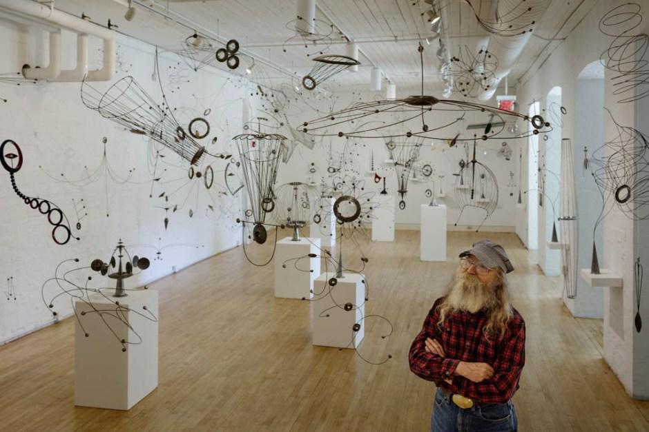 Bill Brady, Reteospective Exhibition; Erie Art Museum 2018