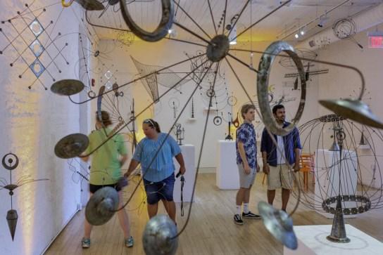 Bill Brady Exhibition; Erie Art Museum 2019
