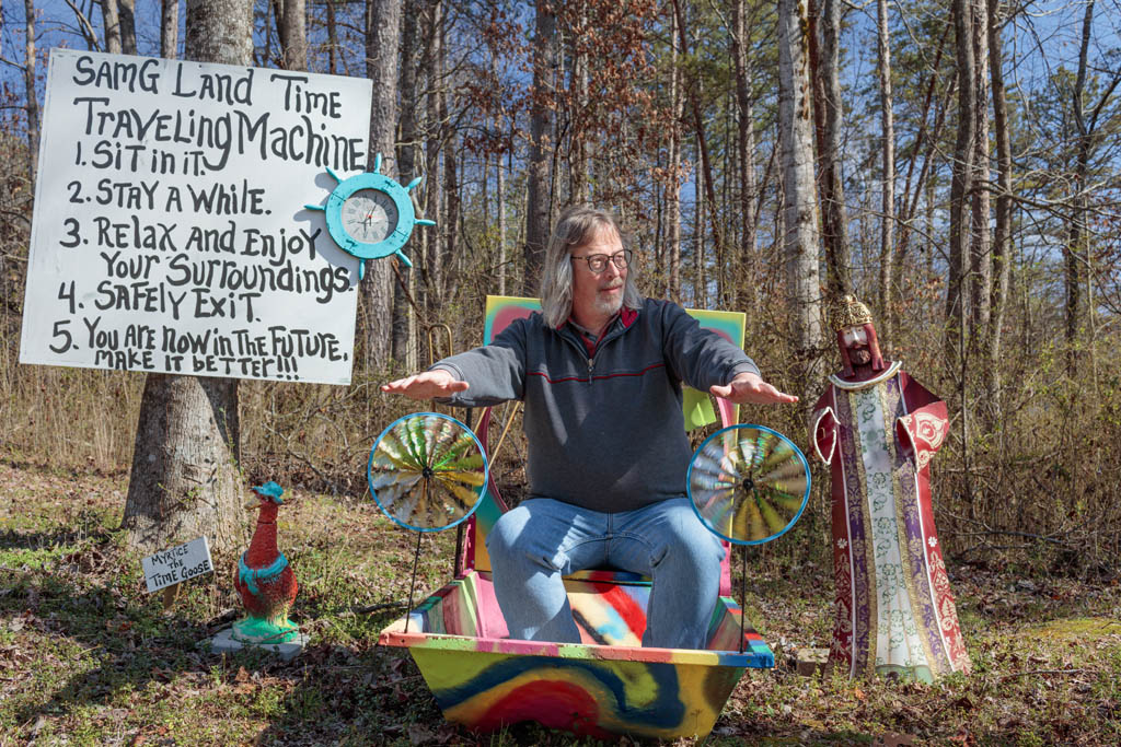Sam Granger's SamG Land, Clarkesville, GA 2020