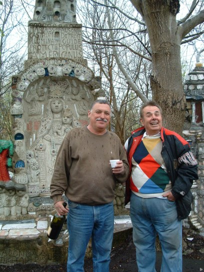 Sergio De Giusti (left) and Silvio Barile; 2003(?) - photo courtesy Sergio De Giusti