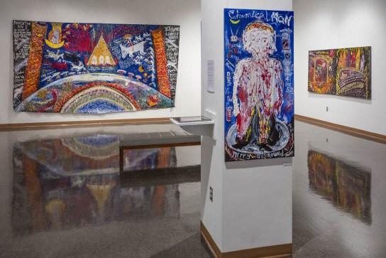 William Thomas Thompson Exhibition, Bruce Gallery; Edinboro University, PA 2015