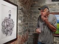Frank Novel at Erie (Pennsylvania) Art Museum Opening; 2019