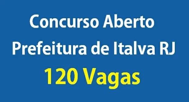 Concurso da Prefeitura de Italva RJ