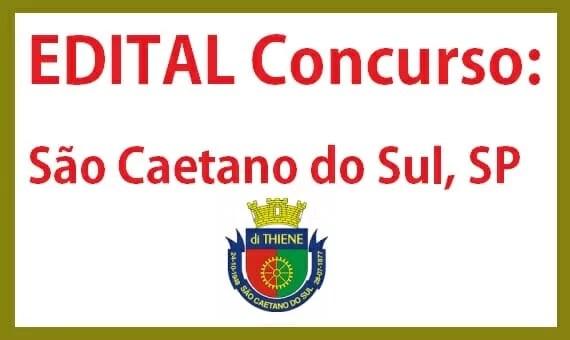 concurso da Prefeitura de São Caetano do Sul