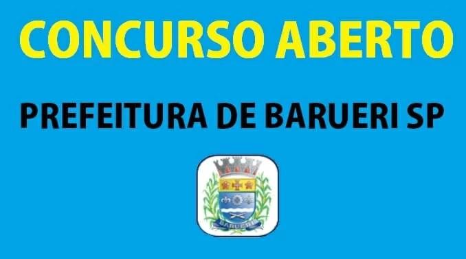concurso público da prefeitura de Barueri São Paulo