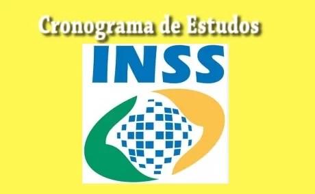 Cronograma de Estudos Concurso do INSS 2019