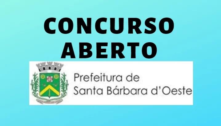 Concurso da Prefeitura de Santa Bárbara d'Oeste - Inscrições Abertas (2)