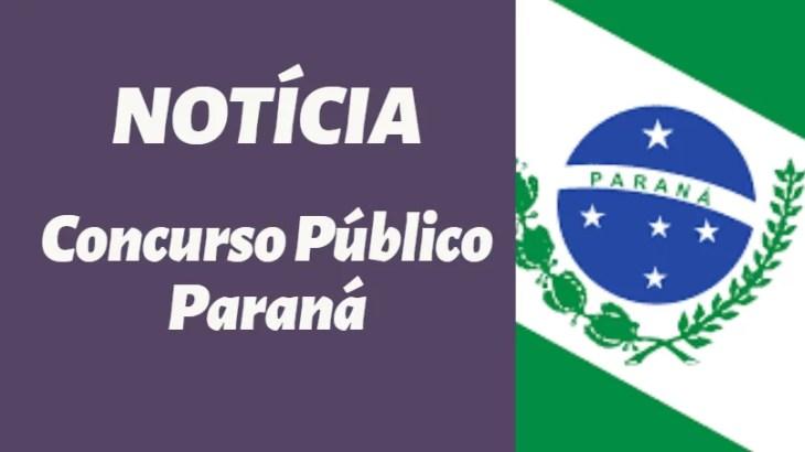 Concurso público no PR