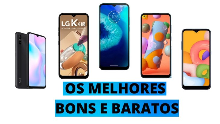 5 Melhores Smartphones Baratos
