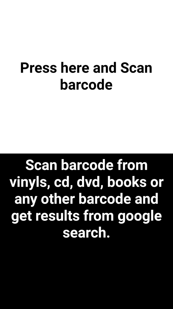 Scan Codebarre