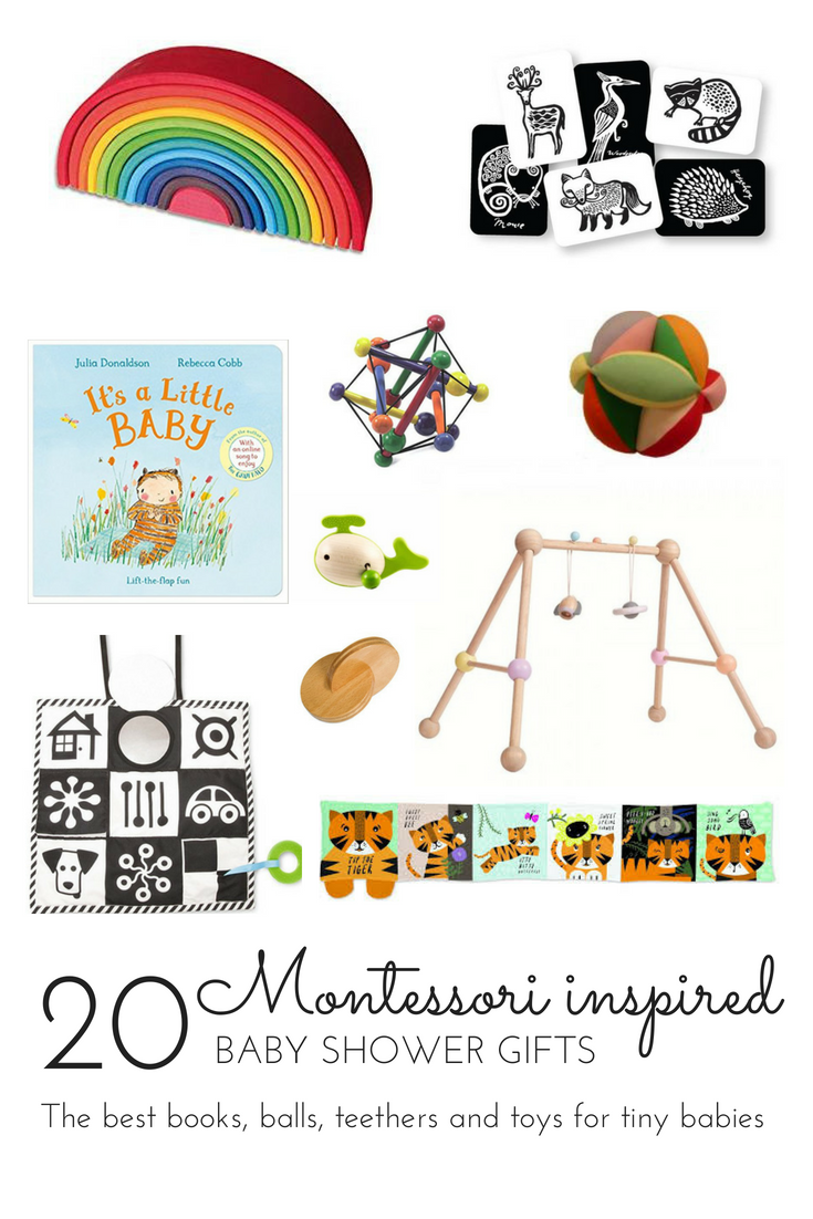 Montessori Inspired Baby Shower Gifts