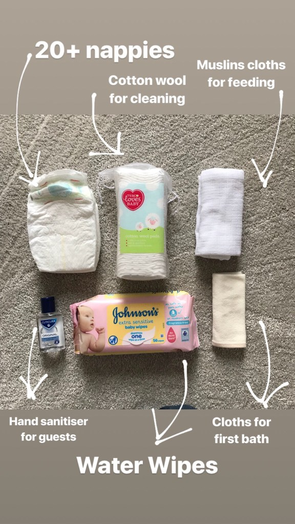 What to pack in your maternity hospital bag