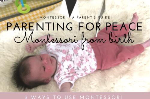 Montessori Baby - 3 ways to start Montessori
