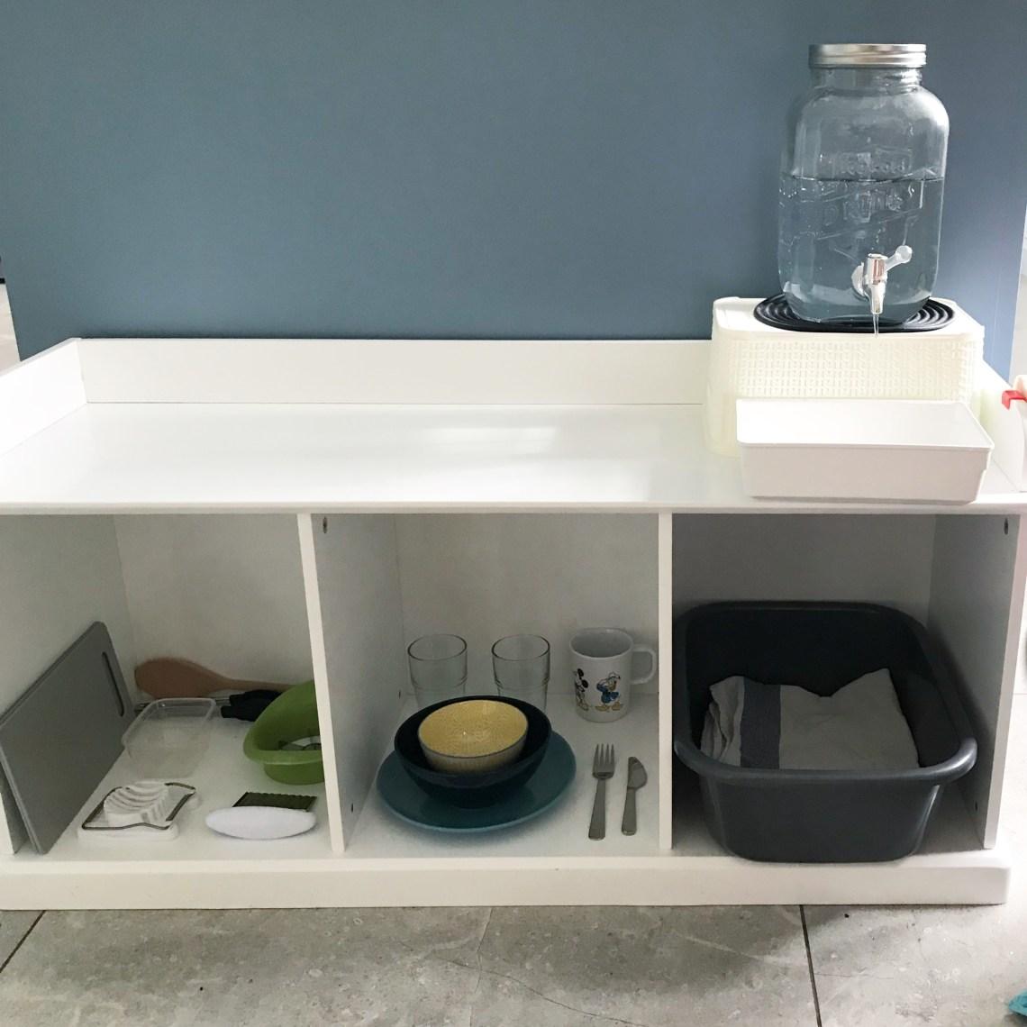 Montessori Toddler Kitchen - The Prepared Environment
