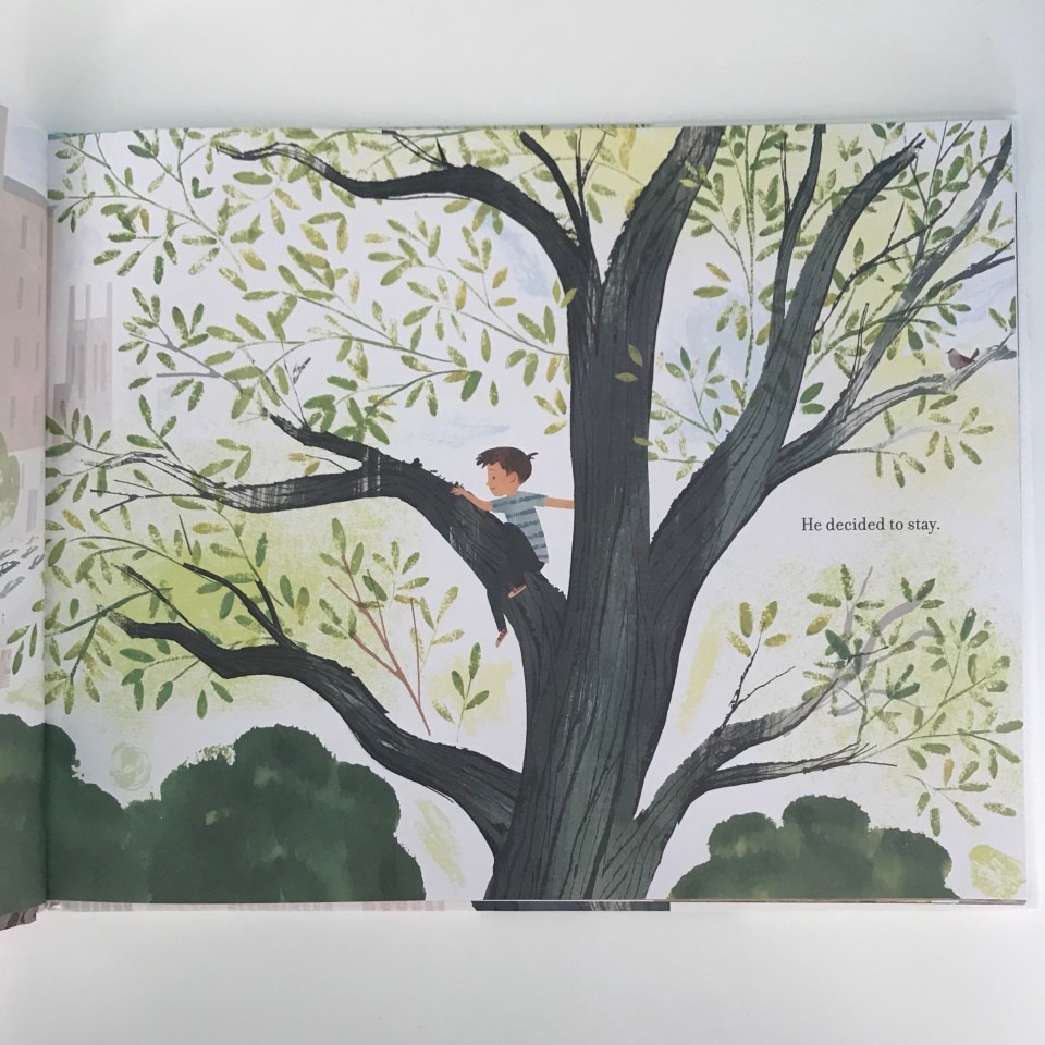 Up In The Leaves by Shira Boss children's book
