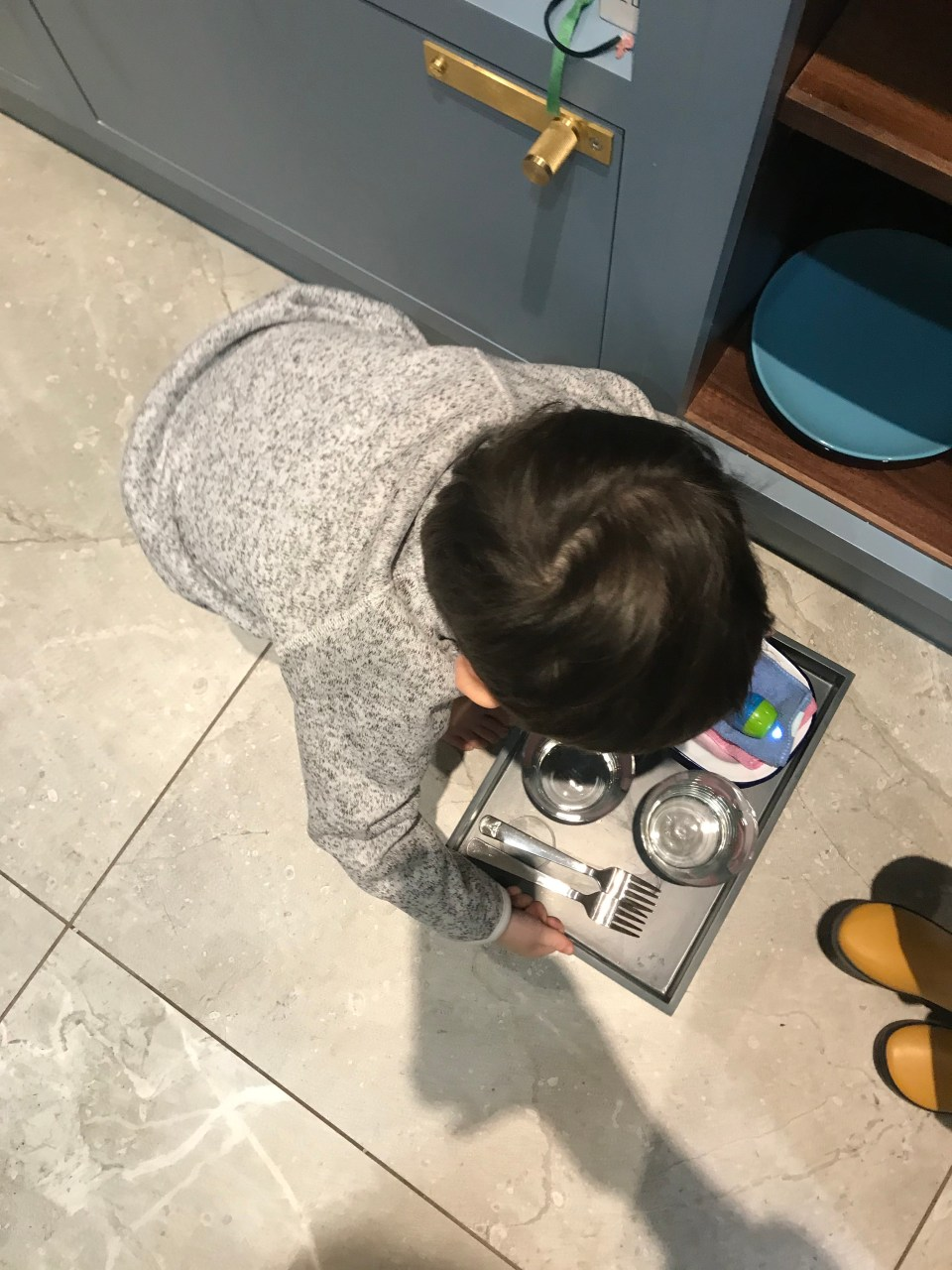 Montessori Practical Life for a Toddler