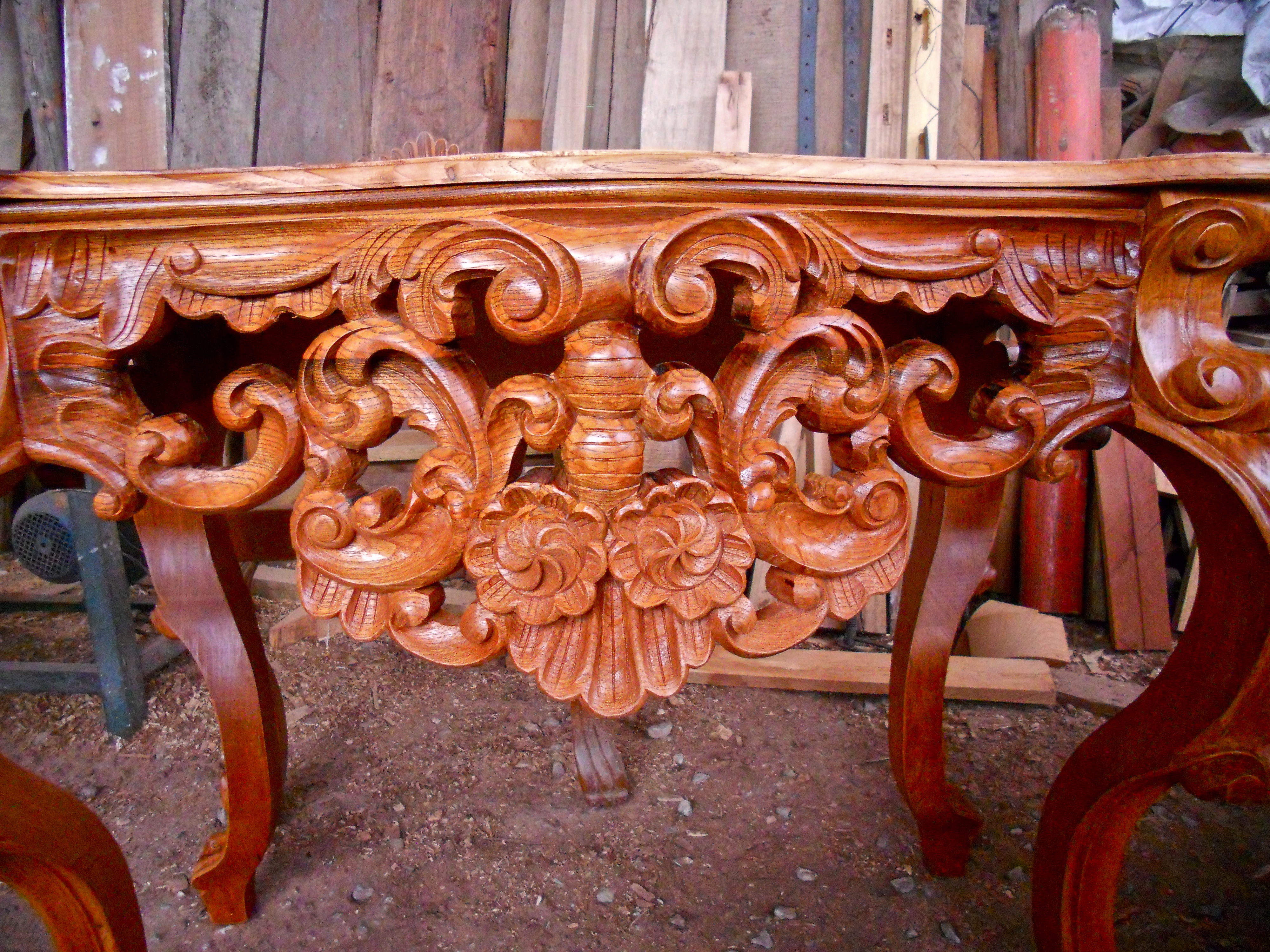 how to refinish wood chairs tree hammock chair carving | fredy huaman art restoration