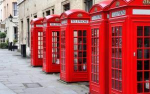 cabinas telefónicas de londres