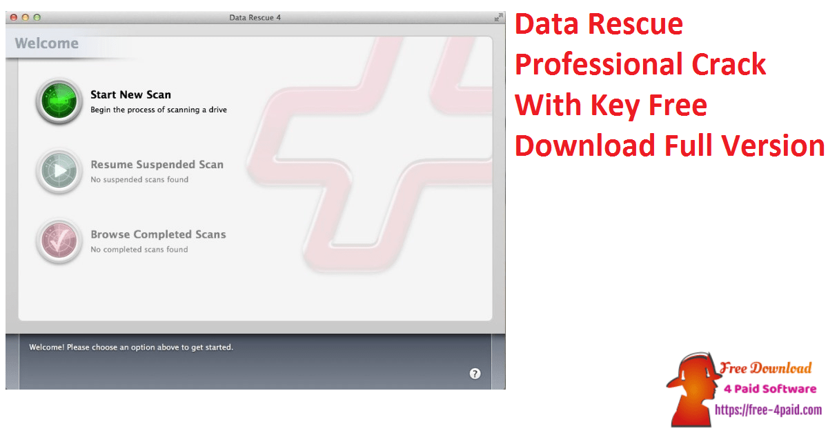 Data Rescue Professional Crack With Key Free Download Full Version