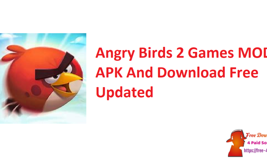 Angry Birds 2 Games 4.0 MOD APK And Download Free [Updated]