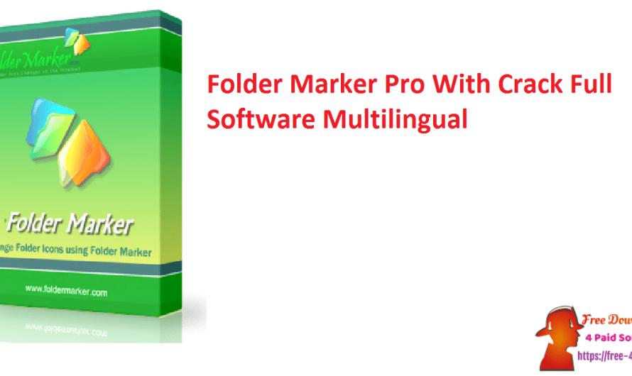 Folder Marker Pro 4.5.1 With Crack Full Software [Multilingual]