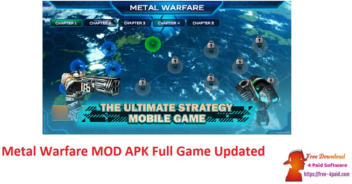 Metal Warfare MOD APK Full Game Updated