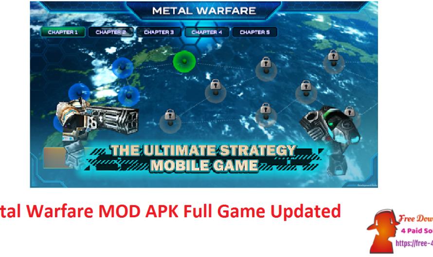 Metal Warfare Ver 1.3.5 MOD APK Full Game [Updated]