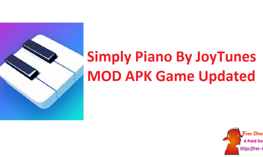 Simply Piano By JoyTunes 6.7.0 Crack MOD APK Game [Updated]