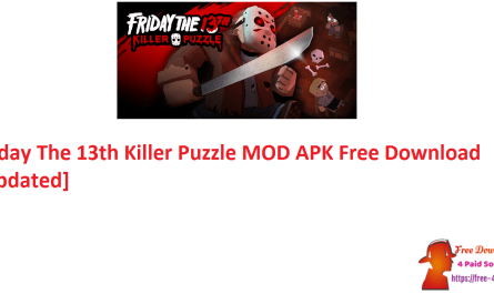Friday The 13th Killer Puzzle MOD APK Free Download [Updated]