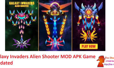 Galaxy Invaders Alien Shooter MOD APK Game Updated