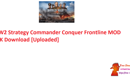 WW2 Strategy Commander Conquer Frontline MOD APK Download [Uploaded]