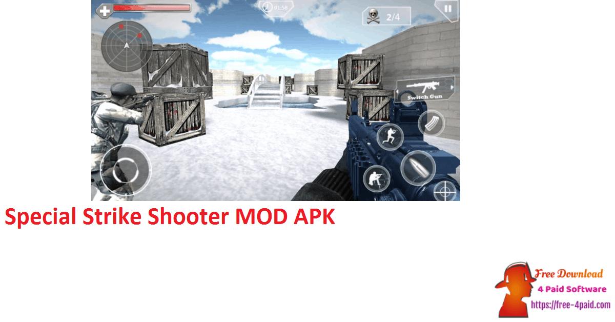 Special Strike Shooter MOD APK