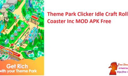 Theme Park Clicker Idle Craft Roller Coaster Inc MOD APK Free