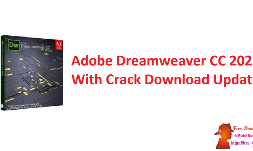 Adobe Dreamweaver CC 2021 V18.2.1 With Crack Download [Updated]