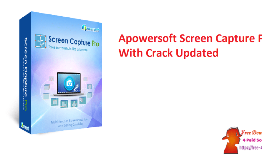 Apowersoft Screen Capture Pro 1.4.9.6 With Crack [Updated]