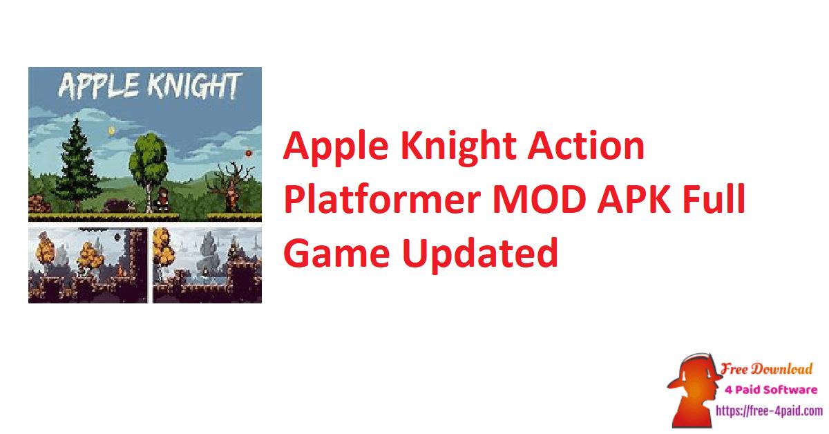 Apple Knight Action Platformer MOD APK Full Game Updated