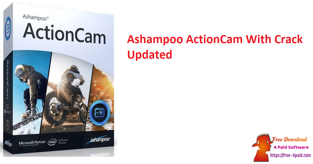 Ashampoo ActionCam With Crack Updated