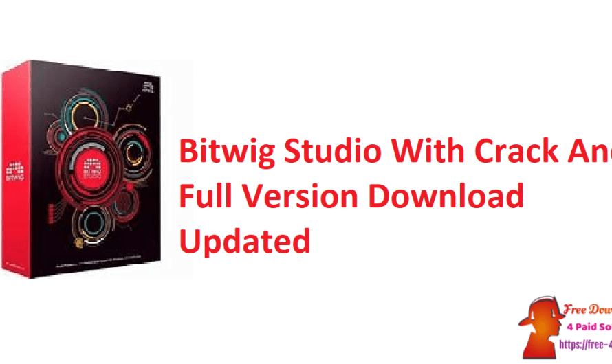 Bitwig Studio 4.0.1 With Crack And Full Version Download [Updated]