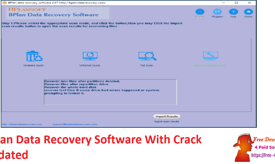 Bplan Data Recovery Software 2.68 With Crack [Updated]