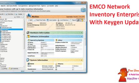 EMCO Network Inventory Enterprise With Keygen Updated