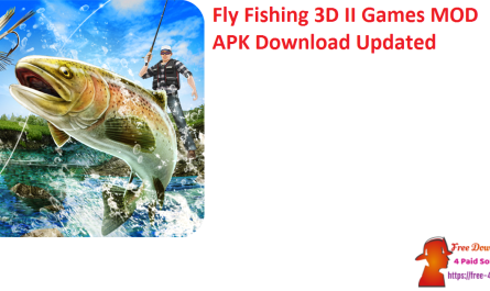 Fly Fishing 3D II Games MOD APK Download Updated